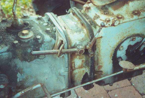 Log Splitter For Sale >> Restoration Of A TEF Ferguson Tractor